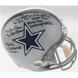 Randy White Signed Cowboys Full-Size Helmet With (6) Inscriptions (JSA COA  Radtke COA)
