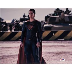 Henry Cavill Signed  Man of Steel  11x14 Photo (PSA COA)