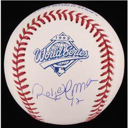 Roberto Alomar Signed 1993 World Series Baseball (Schwartz COA)