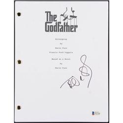 "Talia Shire Signed ""The Godfather"" Full Movie Script (Beckett COA)"