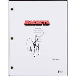"Danny Trejo Signed ""Machete"" Full Movie Script (Beckett COA)"