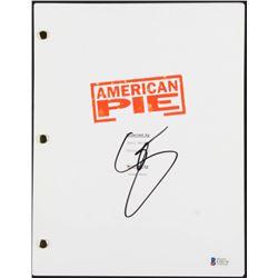 "Seann William Scott Signed ""American Pie"" Full Movie Script (Beckett COA)"