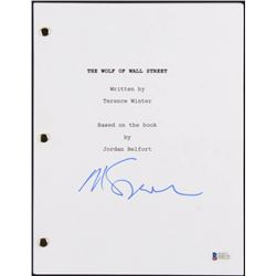 "Martin Scorsese Signed ""The Wolf of Wall Street"" Movie Script (Beckett COA)"