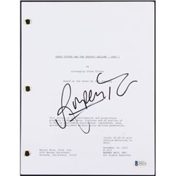 "Rupert Grint Signed ""Harry Potter and the Deathly Hallows- Part 2"" Movie Script (Beckett COA)"