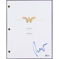 "Patty Jenkins Signed ""Wonder Woman"" Movie Script (Beckett COA)"