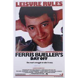 """Matthew Broderick Signed """"Ferris Bueller's Day Off"""" 24x36 Poster (Schwartz COA)"""