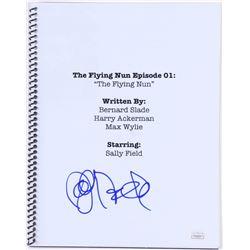 "Sally Field Signed ""The Flying Nun Episode 1"" Movie Script (JSA COA)"