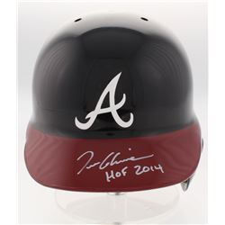 Tom Glavine Signed Atlanta Braves Full-Size Batting Helmet Inscribed  HOF 2014  (Radtke COA)