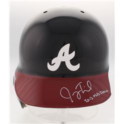 "Joey Terdoslavich Signed Atlanta Braves Full-Size Batting Helmet Inscribed ""2013 MLB Debut"" (Radtke"