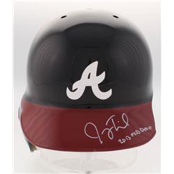 "Joey Terdoslavich Signed Atlanta Braves Full-Size Batting Helmet Inscribed ""2013 MLB Debut"" (Radtke"