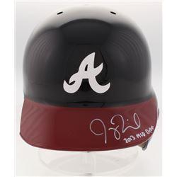 Joey Terdoslavich Signed Atlanta Braves Full-Size Batting Helmet Inscribed  2013 MLB Debut  (Radtke