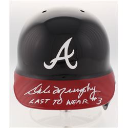 "Dale Murphy Signed Atlanta Braves Full-Size Batting Helmet Inscribed ""Last To Wear #3"" (Radtke COA)"
