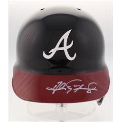 Andres Galarraga Signed Atlanta Braves Full-Size Batting Helmet (Radtke COA)