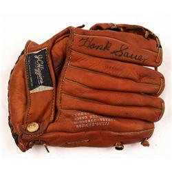 Hank Sauer Signed Vintage Baseball Glove (JSA Hologram)