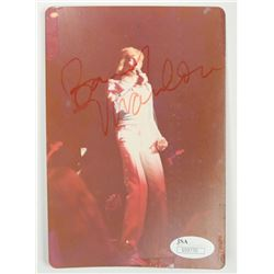 Barry Manilow Signed 4x5.5 Photo (JSA COA)