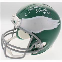 Herschel Walker Signed Philadelphia Eagles Full-Size Throwback Helmet (Beckett COA)