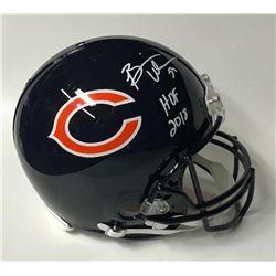 "Brian Urlacher Signed Chicago Bears Full-Size Authentic On-Field Helmet Inscribed ""HOF 2018"" (JSA CO"
