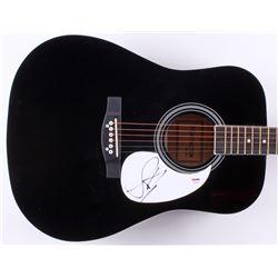 """Steven Tyler Signed 41"""" Acoustic Guitar (PSA Hologram)"""