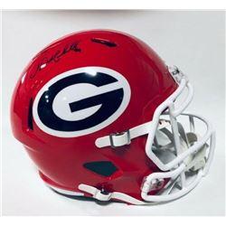 Nick Chubb Signed Georgia Bulldogs Full-Size Speed Helmet (JSA COA)