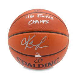 Kevin Love Signed LE Basketball Inscribed  '16 Finals Champs  (UDA COA)