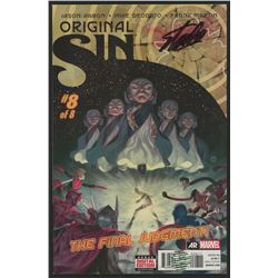 "Stan Lee Signed 2014 ""Original Sin"" Issue #8 Marvel Comic Book (Lee COA)"