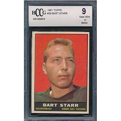 1961 Topps #39 Bart Starr (BCCG 9)