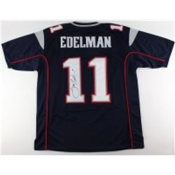 Julian Edelman Signed New England Patriots Jersey (JSA COA)