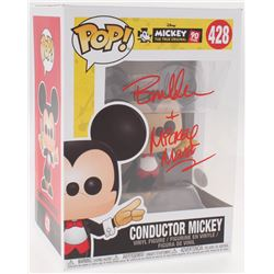 Bret Iwan Signed  Mickey: The True Original  Conductor Mickey #428 Funko Pop Vinyl Figure Inscribed