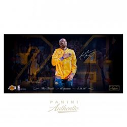 "Kobe Bryant Signed Lakers ""Farewell"" 16x32 Limited Edition Photo (Panini COA)"