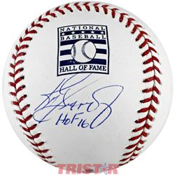 "Ken Griffey Jr. Signed Hall Of Fame Logo Baseball Inscribed ""HOF 16"" (TriStar Hologram)"