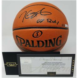 Kevin Durant Signed Official NBA Basketball Inscribed  08 ROY  (Panini COA)