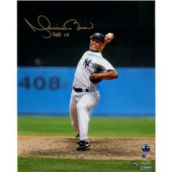 Mariano Rivera Signed New York Yankees  Vertical Pitching  8x10 Photo Inscribed  HOF 2019  (Steiner