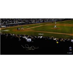 Mariano Rivera Signed New York Yankees  Big Signature  16x32 Photo Inscribed  HOF 2019  (Steiner COA