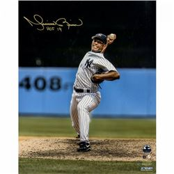 Mariano Rivera Signed New York Yankees  Vertical Pitching  16x20 Photo Inscribed  HOF 2019  (Steiner