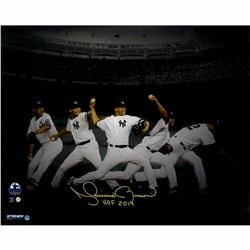 "Mariano Rivera Signed New York Yankees ""Evolution"" 16x20 Photo Inscribed ""HOF 2019"" (Steiner COA)"