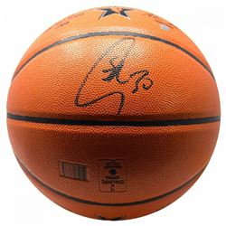 Stephen Curry Signed NBA Game Ball Series Basketball (Steiner COA)