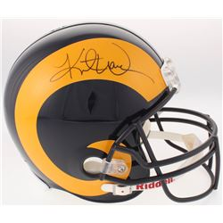 Kurt Warner Signed St. Louis Rams Full-Size Helmet (JSA Hologram)