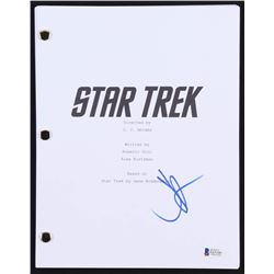 "J.J. Abrams Signed ""Star Trek"" Full Movie Script (Beckett COA)"
