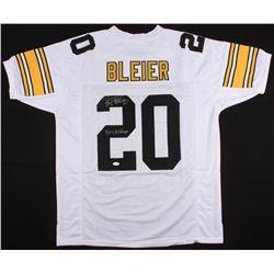"Rocky Bleier Signed Pittsburgh Steelers Jersey Inscribed ""4X SB Champs"" (JSA COA)"