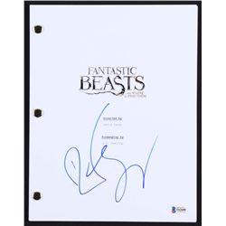 "Dan Fogler Signed ""Fantastic Beasts and Where to Find Them"" Full Movie Script (Beckett COA)"