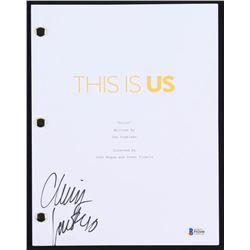 "Chrissy Metz Signed ""This Is Us: Pilot"" Episode Script (Beckett COA)"