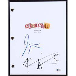 "Kevin Smith  Jason Mewes Signed ""Clerks II"" Full Movie Script (Beckett COA)"