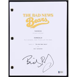 "Billy Bob Thornton Signed ""Bad News Bears"" Full Movie Script (Beckett COA)"
