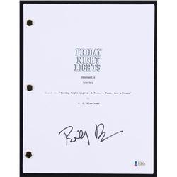 """Billy Bob Thornton Signed """"Friday Night Lights"""" Full Movie Script (Beckett COA)"""