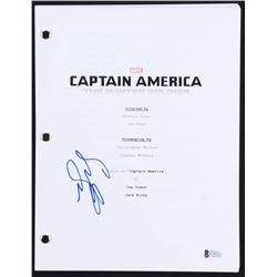 "Sebastian Stan Signed ""Captain America: The Winter Soldier"" Full Movie Script (Beckett COA)"
