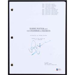 "Rupert Grint Signed ""Harry Potter and The Chamber of Secrets"" Full Script (Beckett COA)"