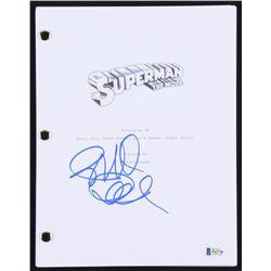 "Richard Donner Signed ""Superman: The Movie"" Full Movie Script (Beckett COA)"