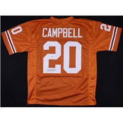 Earl Campbell Signed Texas Longhorns Jersey (PSA COA)
