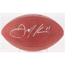 Julian Edelman Signed Full-Size NFL Football (JSA COA)