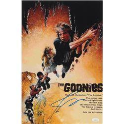 "Josh Brolin Signed ""The Goonies"" 12x18 Photo (JSA Hologram)"